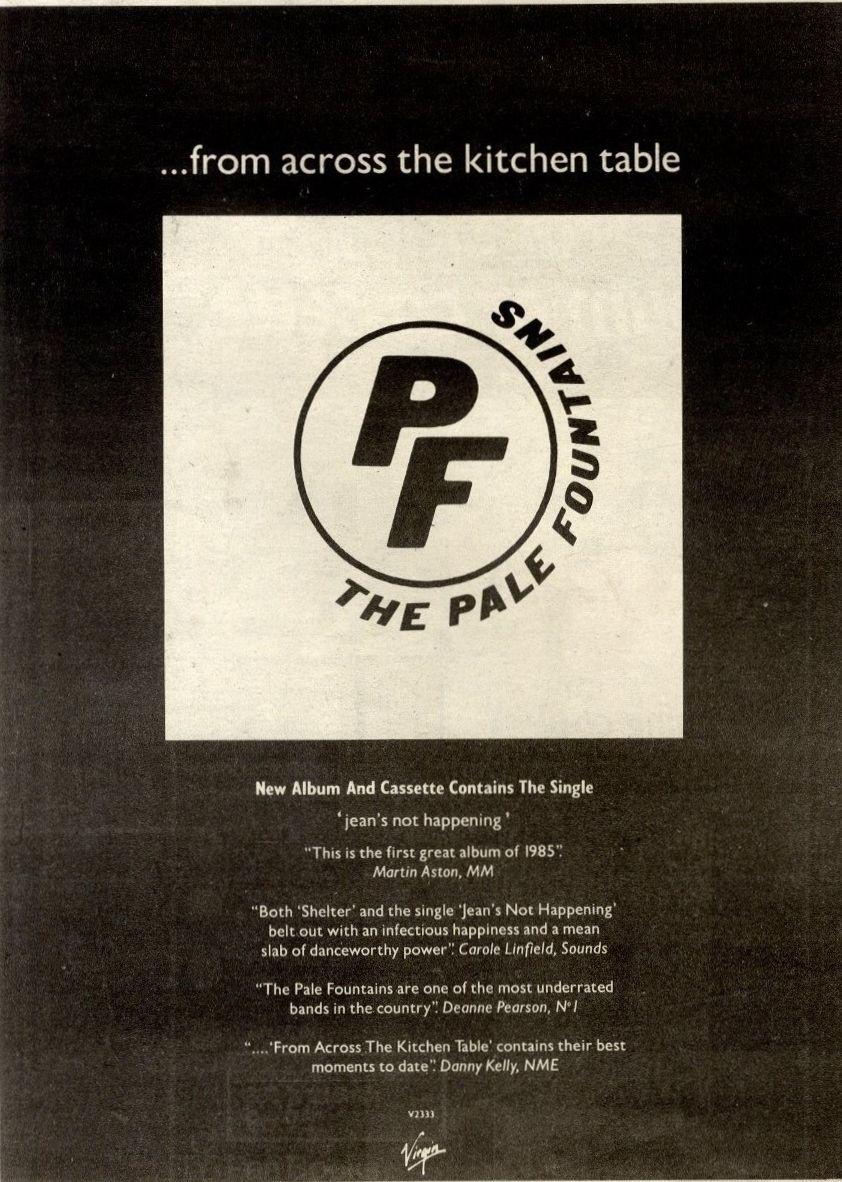 The Pale Fountains - ...from Across The Kitchen Table