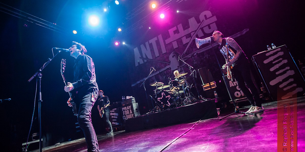 Photos : Anti Flag @ Le Metronum, Toulouse | 17.11.2015