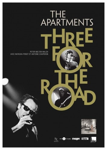 The Apartments - Three For The Road © Pascal Blua