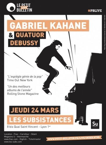 Gabriel Kahane aux Subsistances