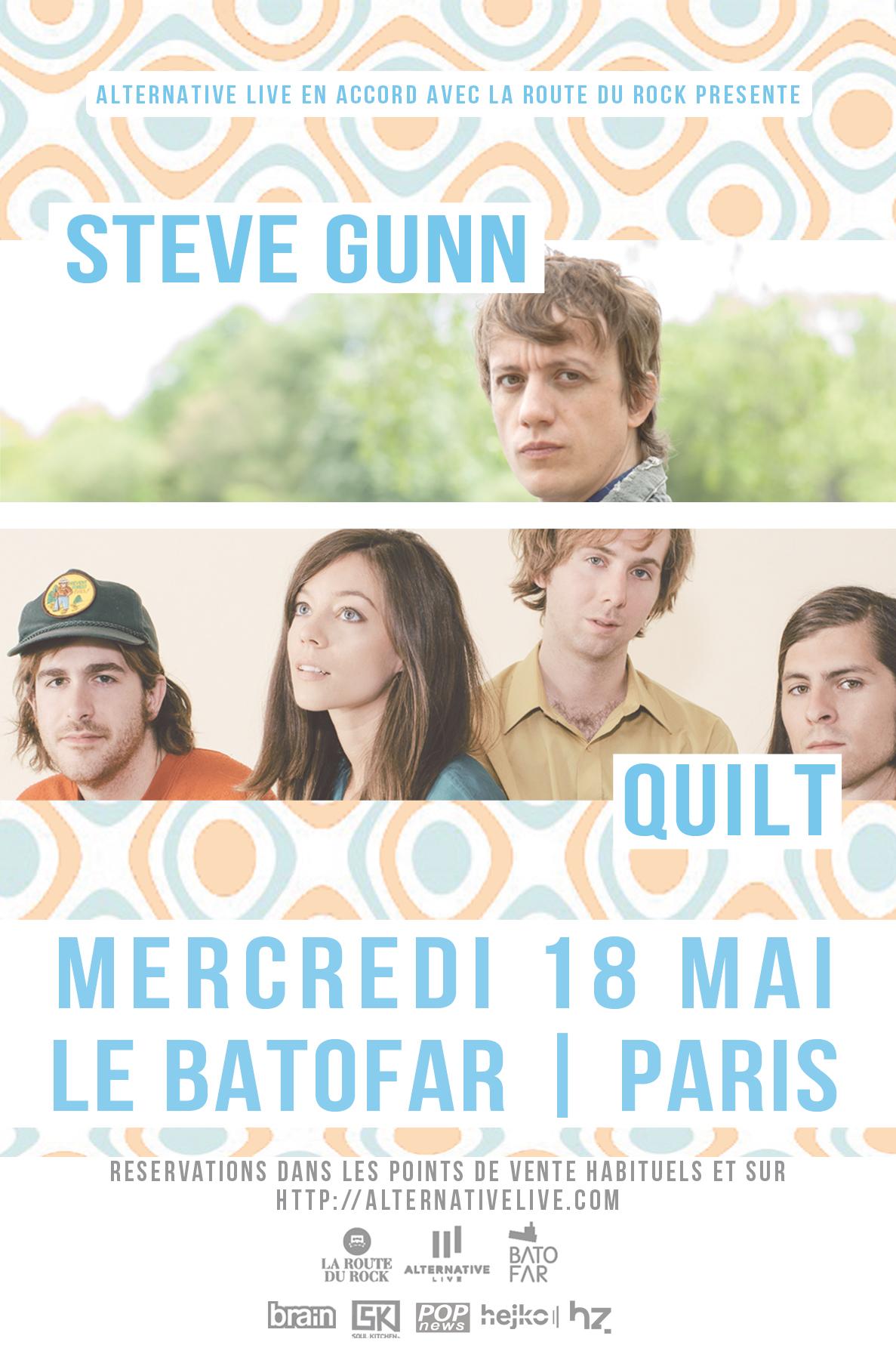 Steve Gunn + Quilt