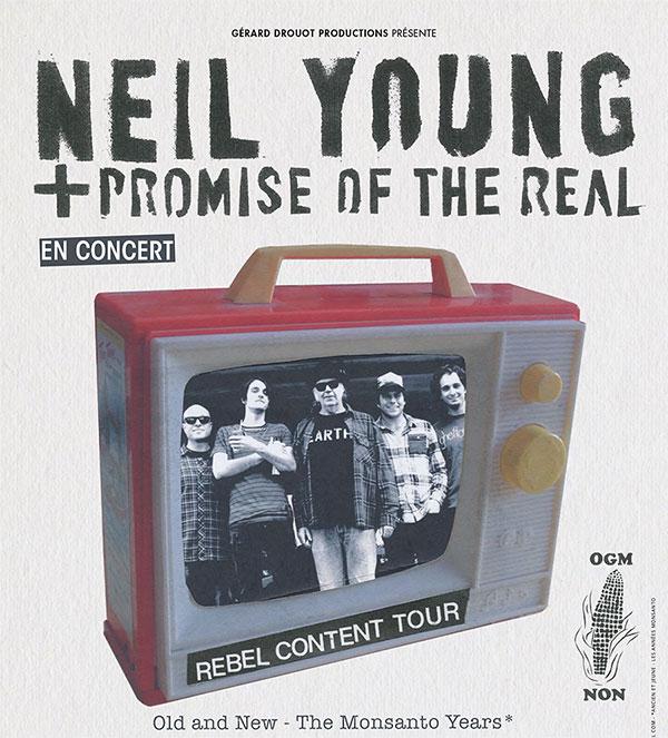 Neil Young en concert à Lyon