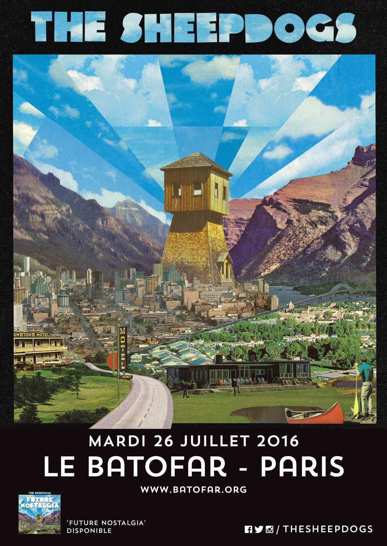 Des places pour The Sheepdogs à Lille & Paris