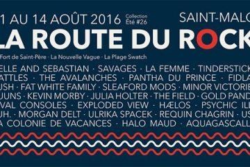 La Route du Rock 2016