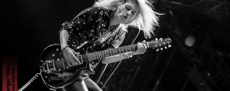 photos concert : The Kills au Garorock 2016