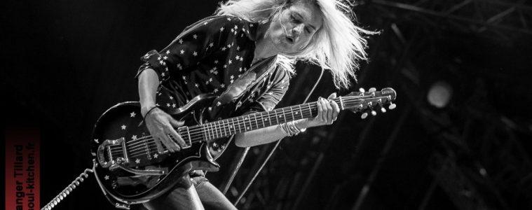 photos concert : The Kills au Garorock 2016