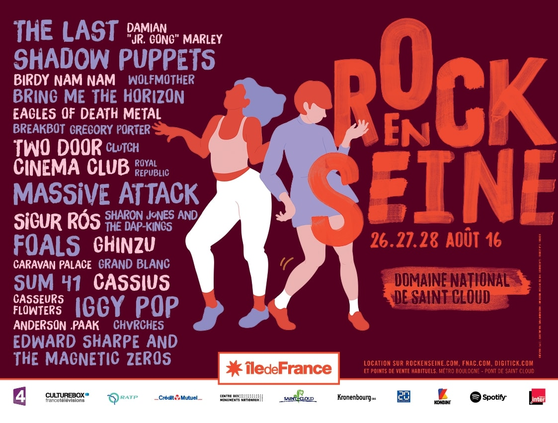 programmation Rock en Seine 2016