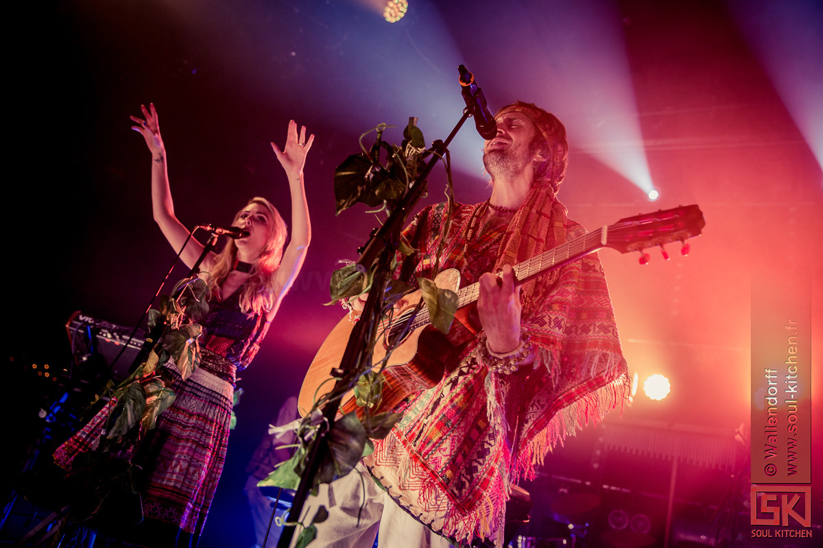 Photos de concert : Crystal Fighters @ le Trabendo, Paris, 24/10/2016