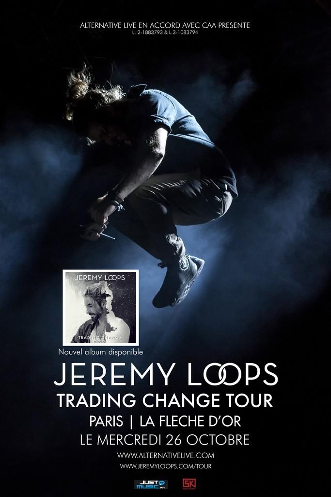 Jeremy Loops à La Flèche d'Or