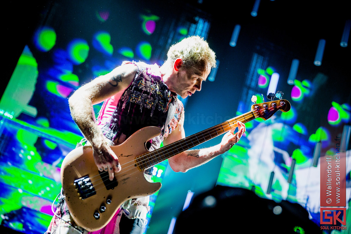 Red Hot Chili Peppers @ Bercy Aréna, Paris, 15/10/2016