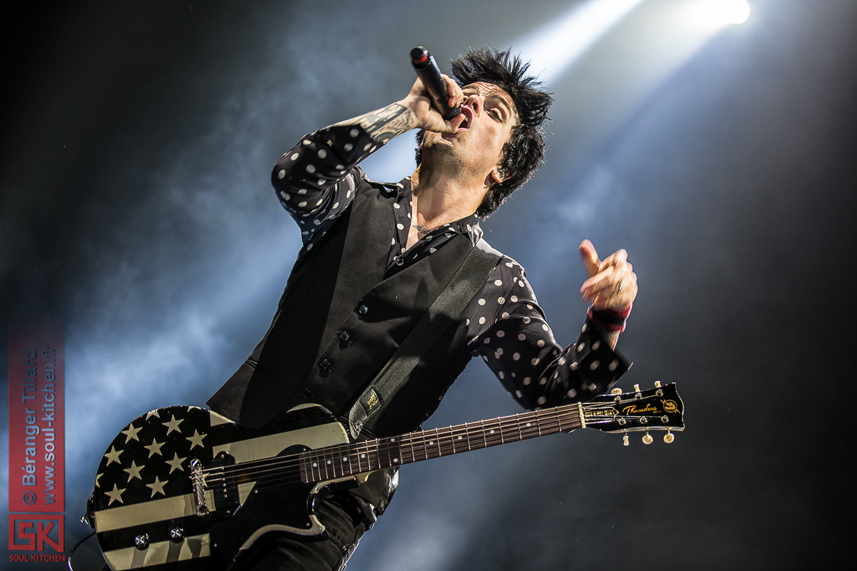 Green Day @ AccorHotels Arena / Bercy, Paris, 03/02/2017
