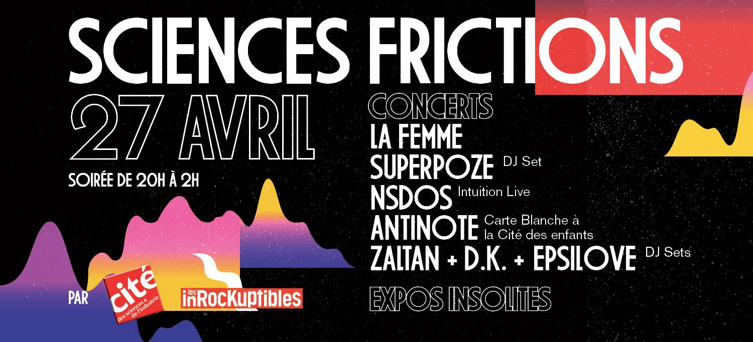 Sciences-Frictions 2017