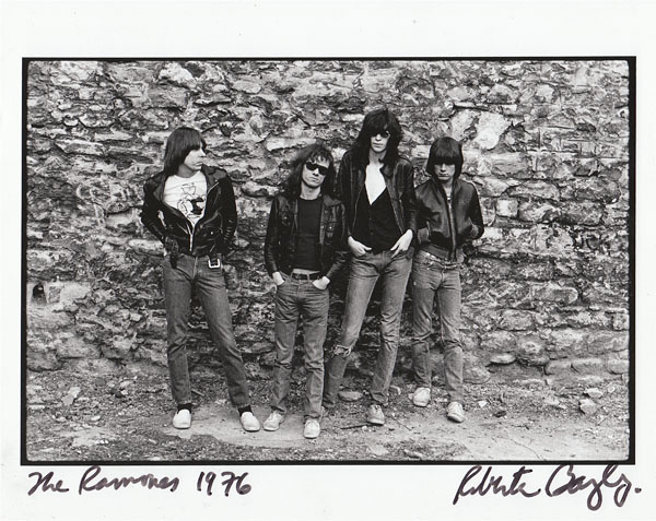 The Ramones © Roberta Bayley