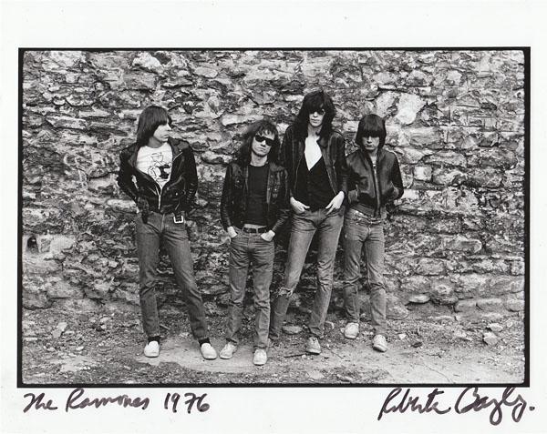 The Ramones © Roberta Bayley
