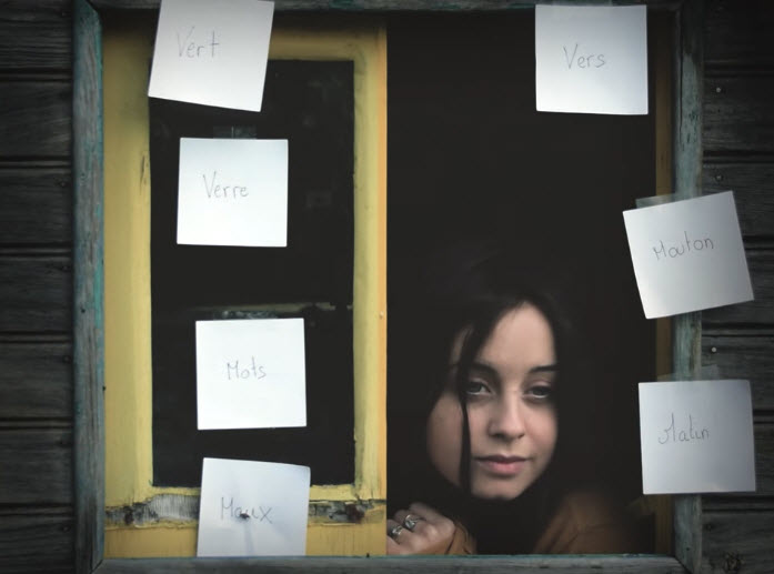 Pierrick Vivares & Leïla Huissoud - Les Mots