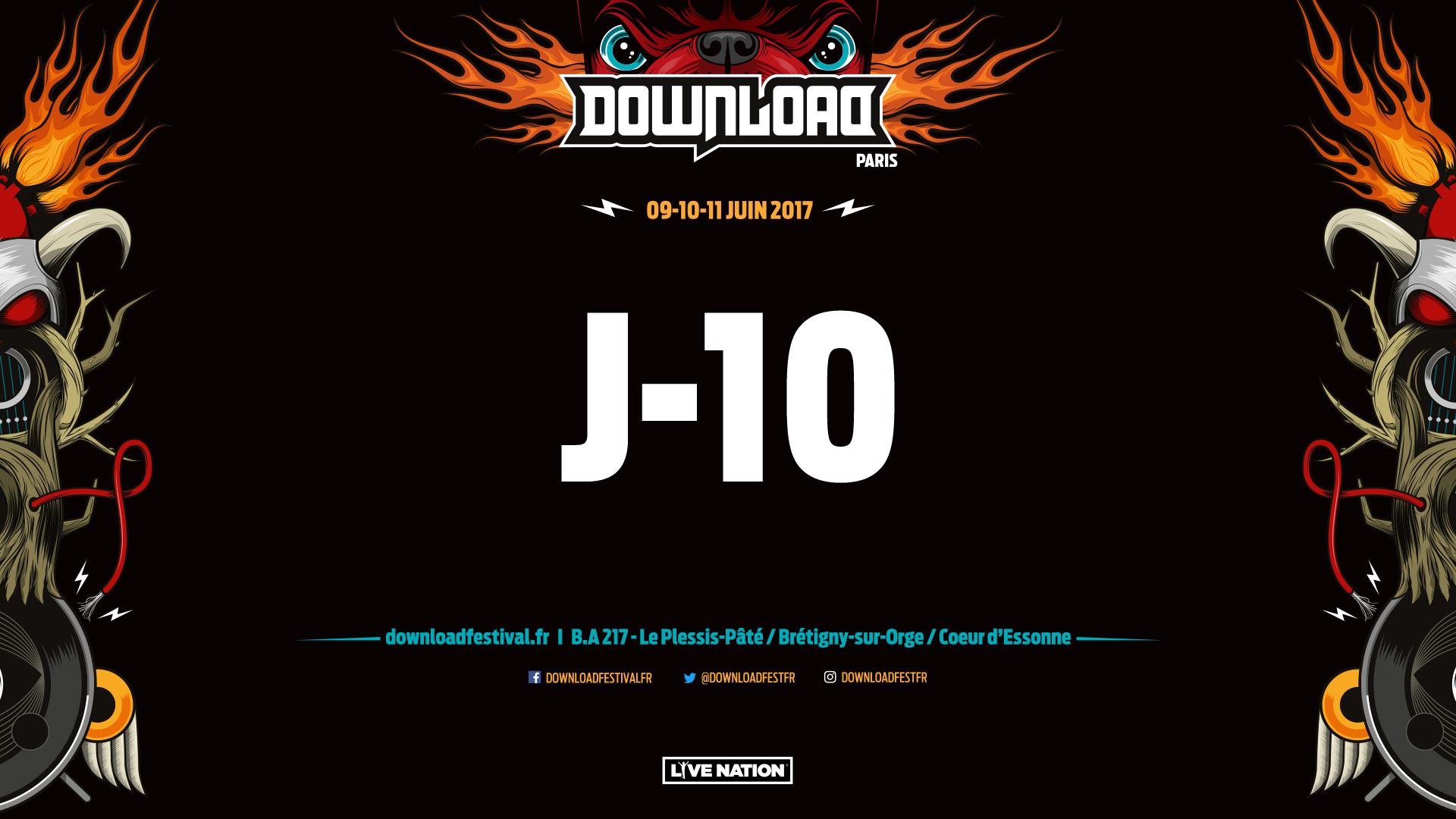 Download Festival France 2017, J-10