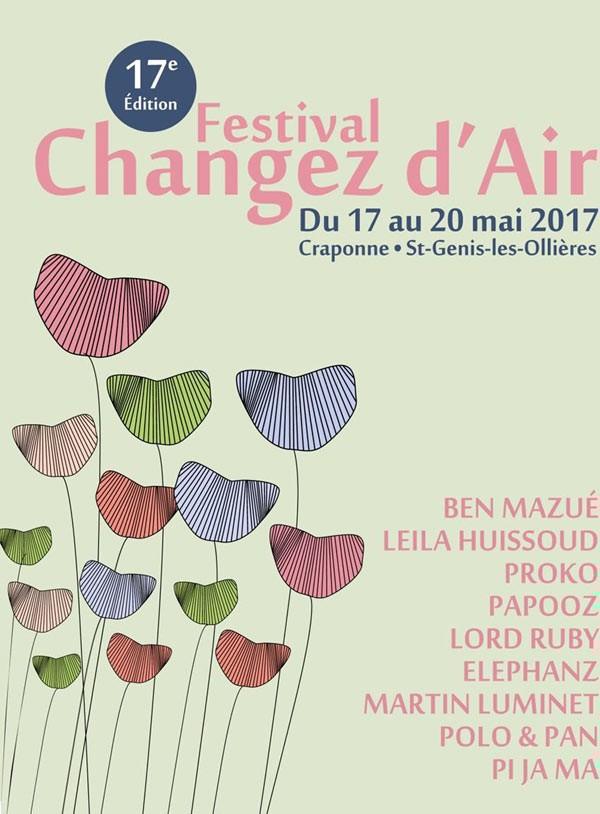 Changez d'air 2017