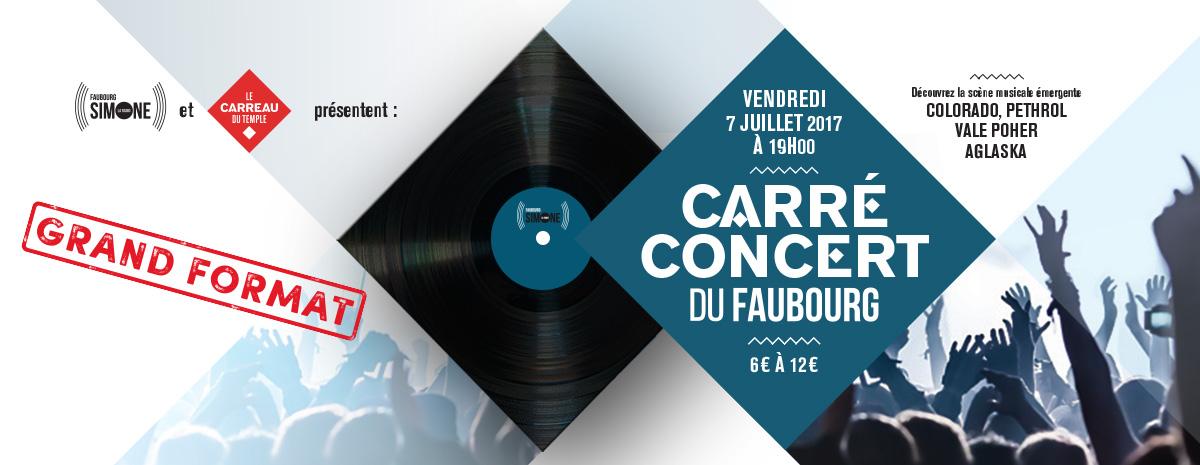Carré Concert - Faubourg Simone