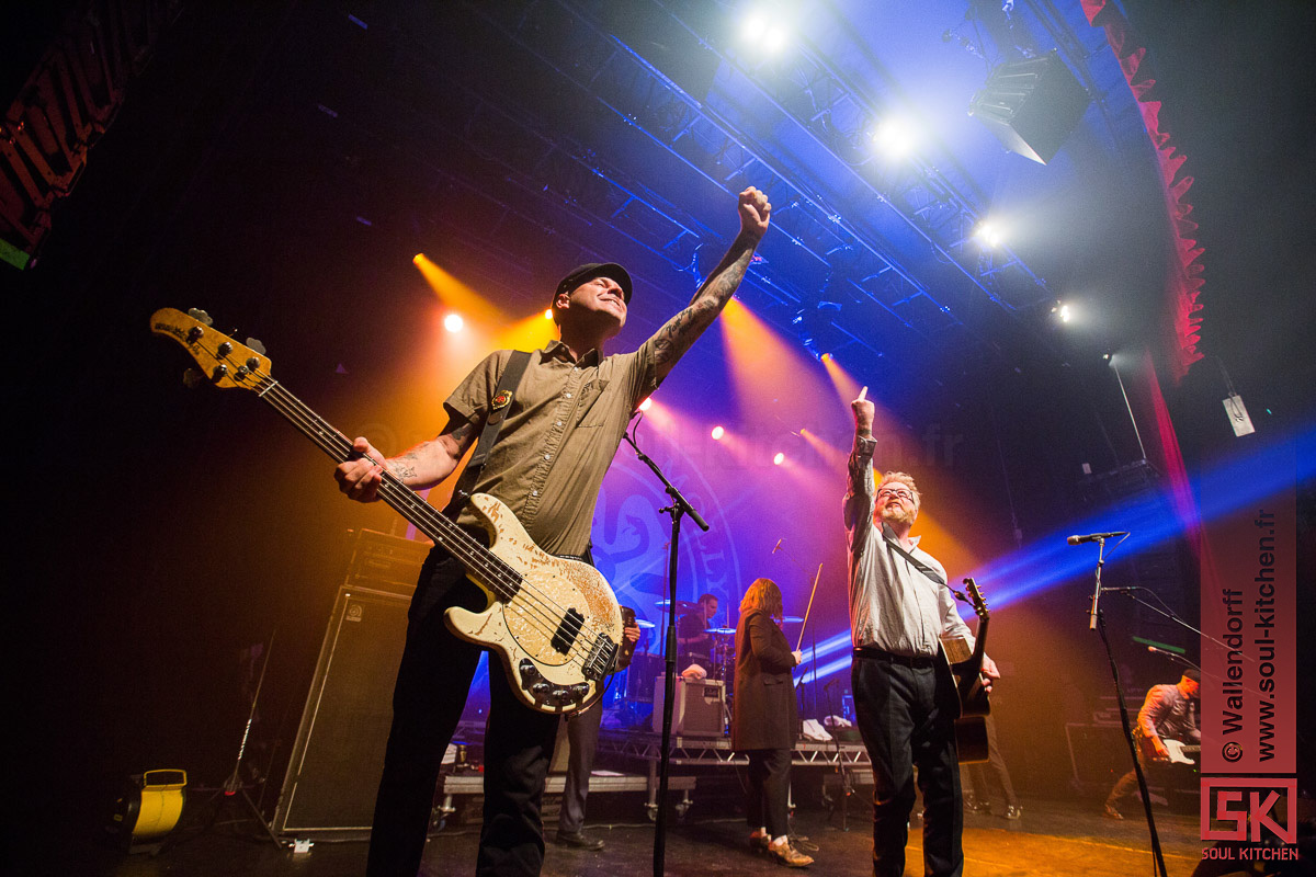 Photos : Flogging Molly @ le Bataclan, Paris | 04.07.2017