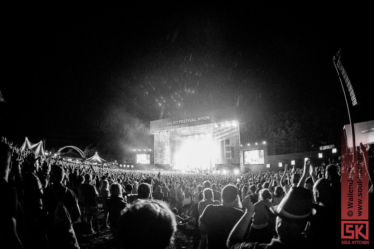 photos : Arcade Fire @ Paléo Festival, Nyon, 19/07/2017