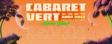 affiche Cabaret Vert 20017