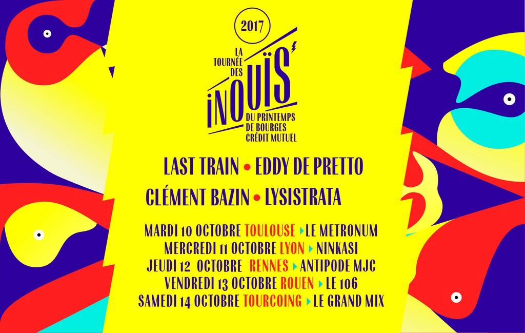 TOURNEE DES INOUÏS 2017