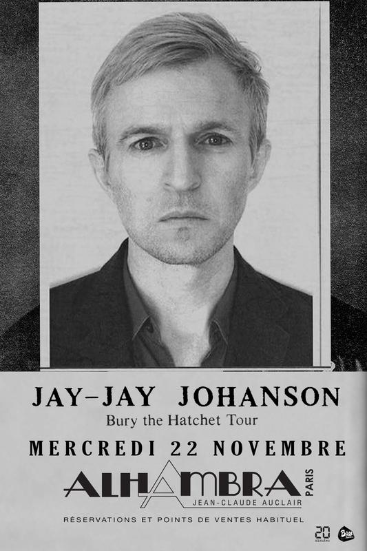 Jay Jay Johanson à l'Alhambra