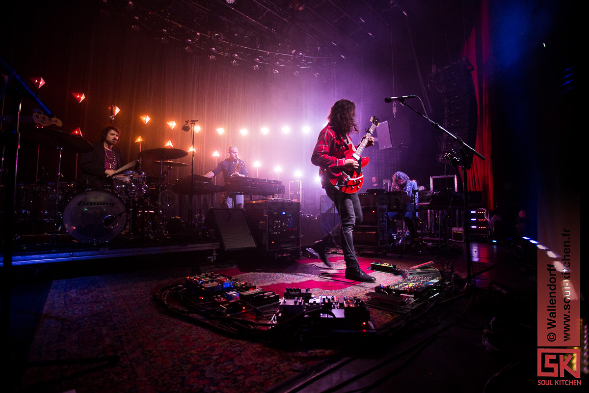 The War on Drugs @ le Bataclan, Paris, 06/11/2017