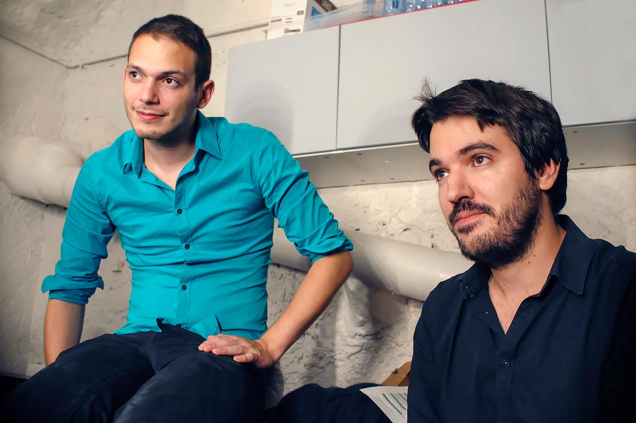 Mathias & Lucas © Fabrice Buffart