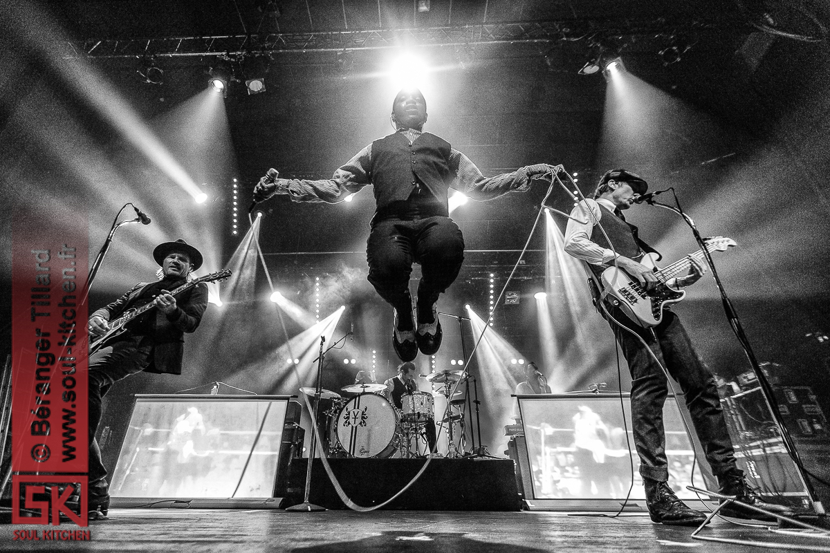 photos: Vintage Trouble @ Rock School Barbey, Bordeaux – 14.01.2018