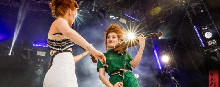 Camille et Julie Berthollet @ Paléo Festival, 22-07-2018