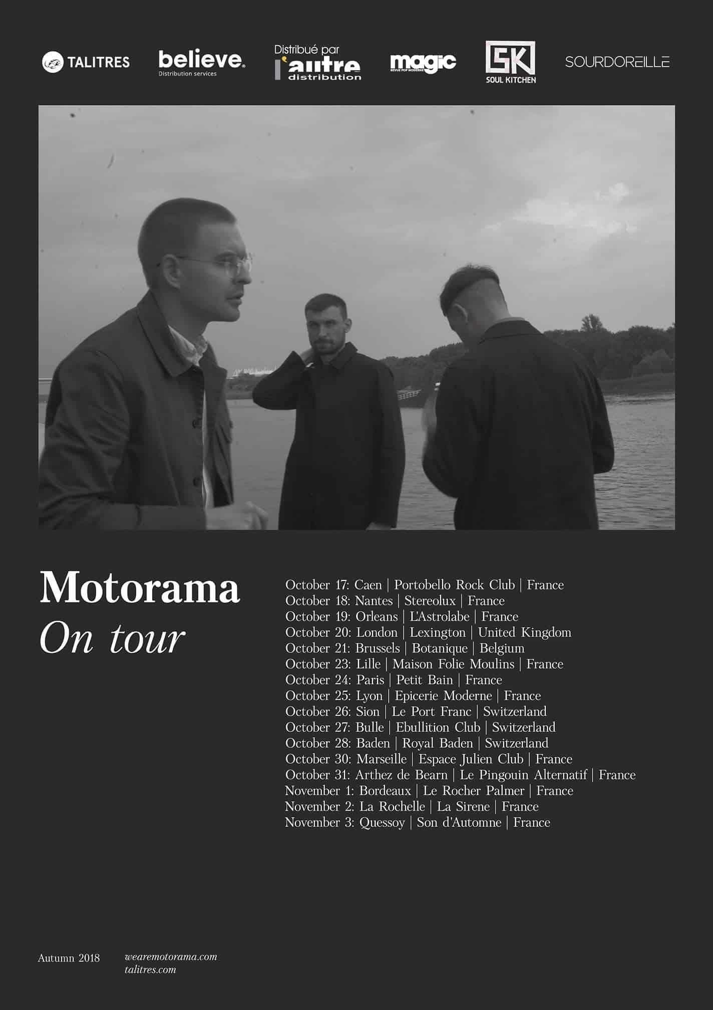 Motorama en tournée 2018