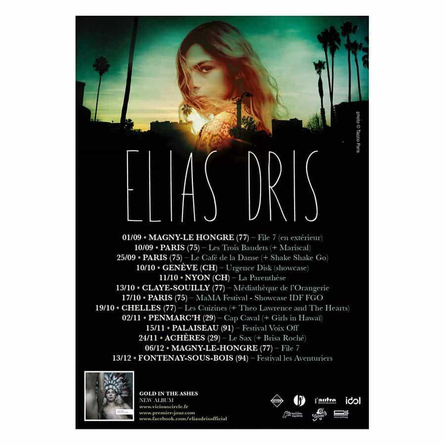Elias Dris on tour