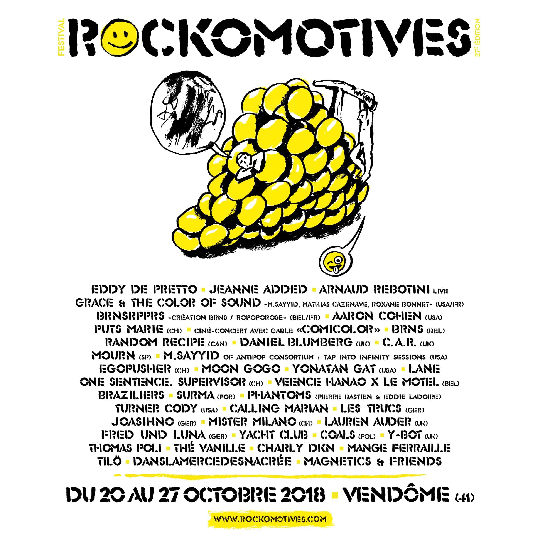 Rockomotives 2018