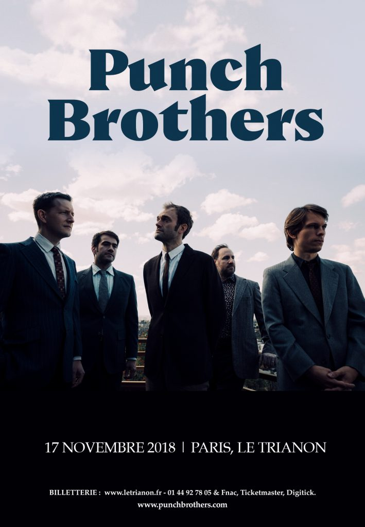 Punch Brothers au Trianon