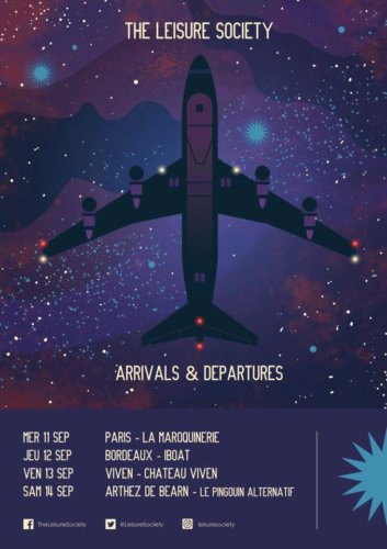 The Leisure Society - Tournée Arrivals & Departures