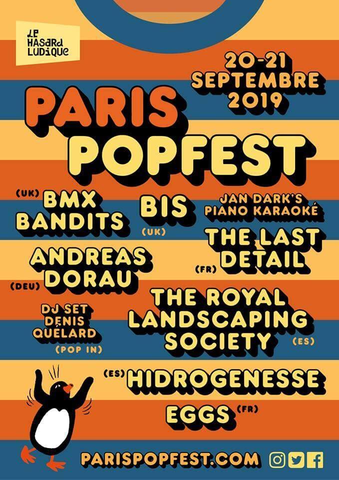 Paris Pop Fest 2019
