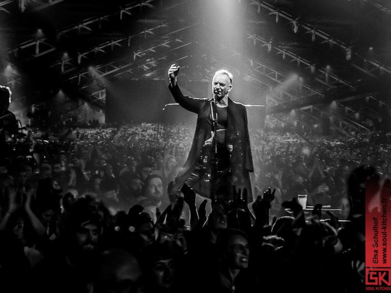 Sting @ Halle Tony Garnier, Lyon - 25-10-2019