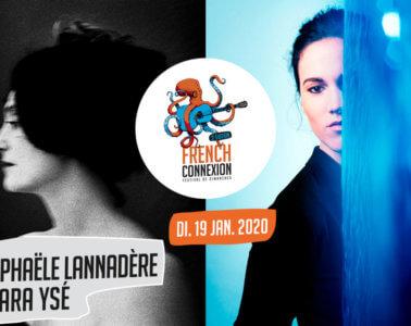 3X2 places pour Raphaële Lannadère et Clara Ysé au théâtre Comédie Odéon à Lyon