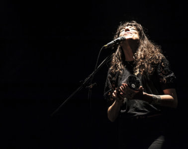 Photos : Djazia Satour et Gyslain.N @ Salle Léo Ferré, Lyon | 14.02.2020