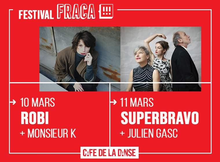 Gagnez votre pass pour le Festival Fraca!!! au Café de la Danse