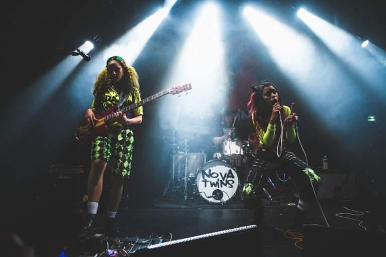 Nova Twins @ Club Transbo, Lyon 12.03.2020