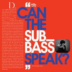 Algiers - Can The Sub_bass Speak?