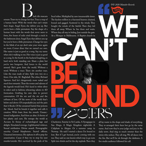 Algiers - We Can't Be Found
