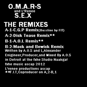 Omar S - S.e.x – The Remixes