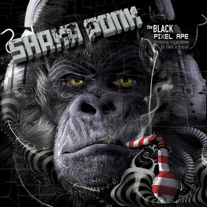 Shaka Ponk - The Black Pixel Ape (drinking Cigarettes To Take A Break)