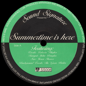 Theo Parrish - Summertime Is Here