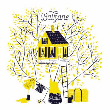 Balzane - Paille
