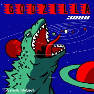Les Vulves Assassines - Godzilla 3000 (single)
